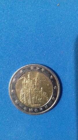 Moneda 2 Euros Bayern Alemania