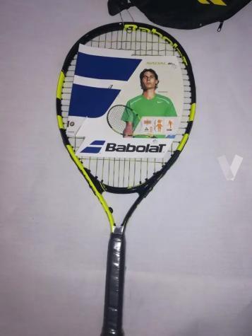 94c04f744 MIL ANUNCIOS.COM - Raqueta de tenis Babolat Nadal JR23
