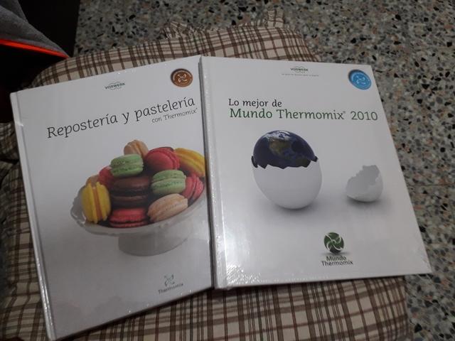 VENDO LIBRO RECETAS THERMOMIX - foto 1