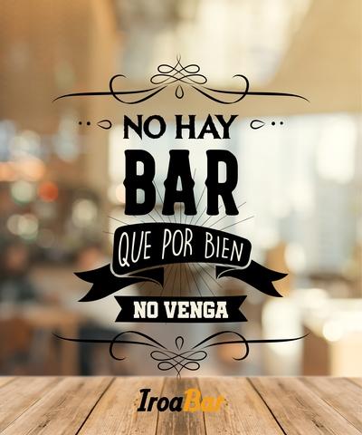 Estor Con Frase No Hay Bar Imagen Bar