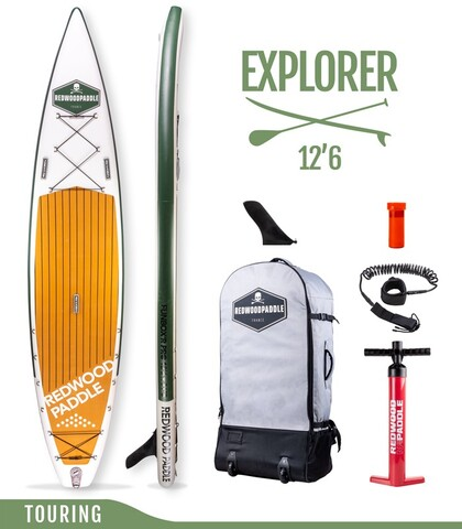SUP TOURING 12. 6X30 REDWOODPADDLE - foto 2