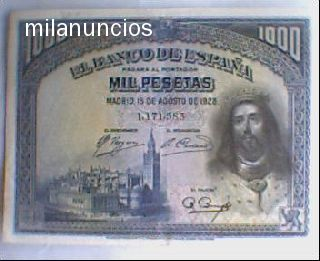 Billete De1000 Pts Año 1928 San Fernando