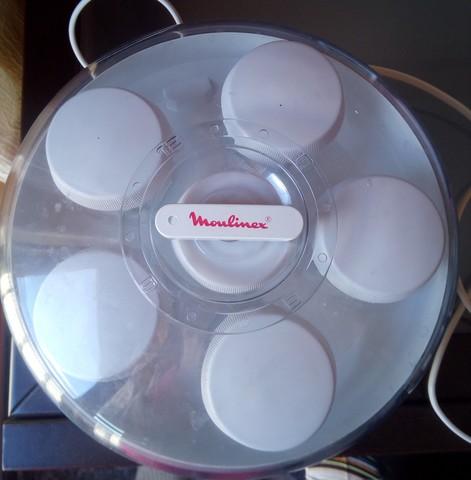 hacer yogur en yogurtera moulinex