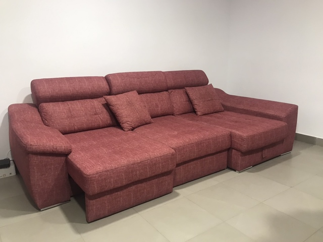 Brilliant Sofa Triple Chaise Longue Con Canape Caraccident5 Cool Chair Designs And Ideas Caraccident5Info