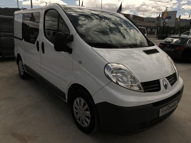 Mil Anuncios Com Renault Trafic 2 0 Dci 115 Cv 6 Plazas Doble Puerta Lateral