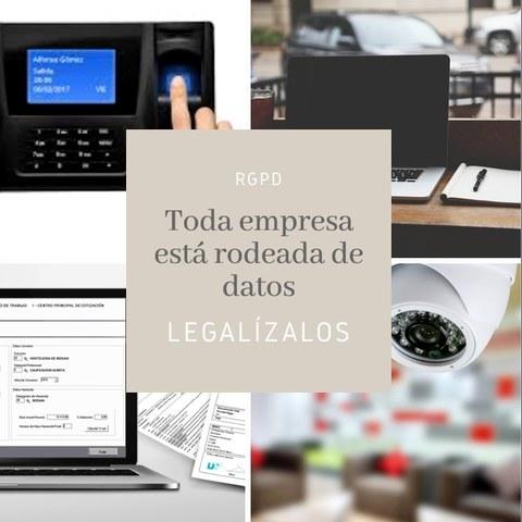 LEGALIZA TU EMPRESA CON LA RGPD - foto 1