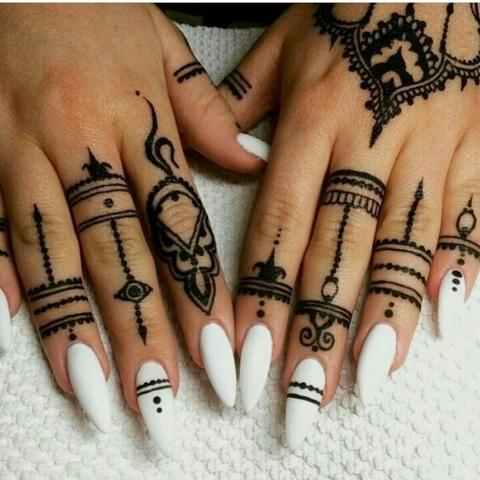 Mil Anuncioscom Uñas De Gel Y Tatuajes De Henna