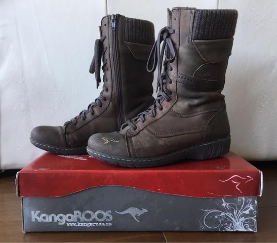 botas kangaroos mujer