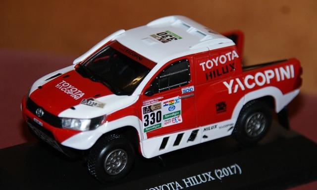 Toyota Hilux Rallye Dakar 2017 Alejandro