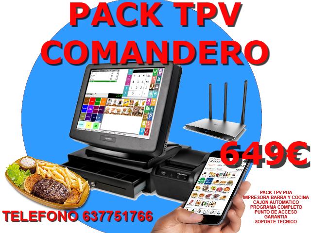PACK TPV COMANDERO - foto 1