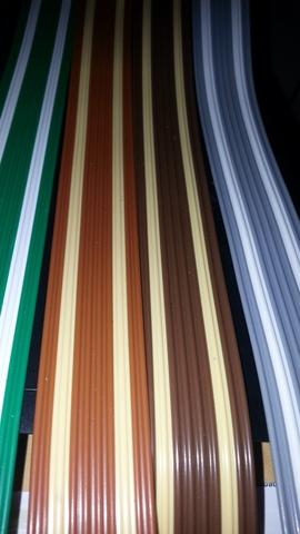 Cortinas De Tiras Pvc Colores