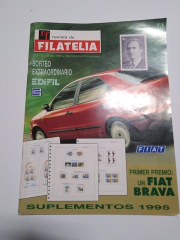 Revista De Filatelia Año 1995
