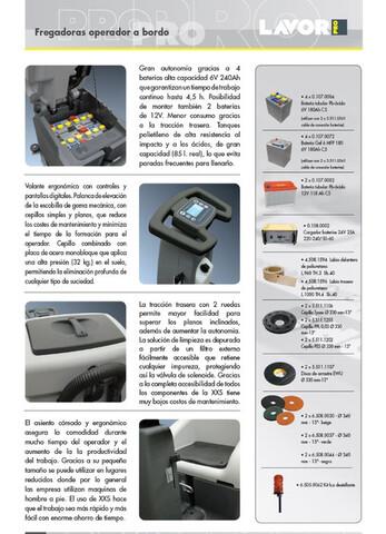 FREGADORA CONDUCTOR LAVOR XXS66 NUEVA - foto 1
