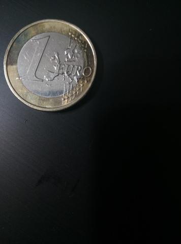 Acuñacion Euro 2016 España Error Color
