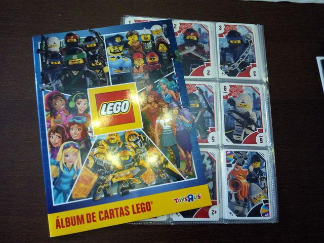 Lego Toysrus Coleccion Cartas Completa