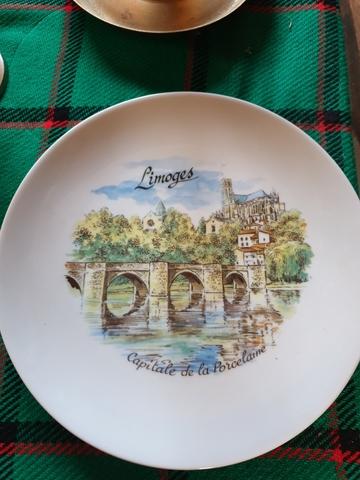 Porcelana Fina De Irlanda recuerdos de Irlanda Placa Decorativa