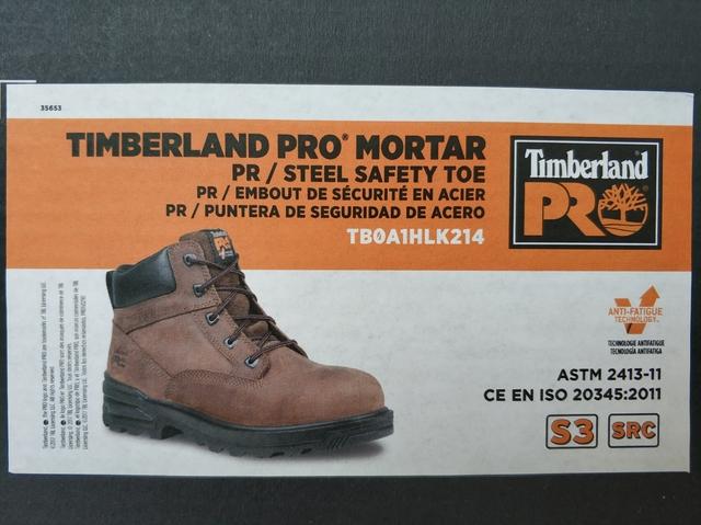 Seguridad Seguridad Pro Botas Timberland Mortar Botas 08nmNyvwO