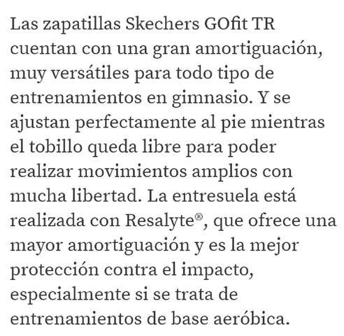 DEPORTIVAS SKECHERS GOFIT TR N°37 - foto 5