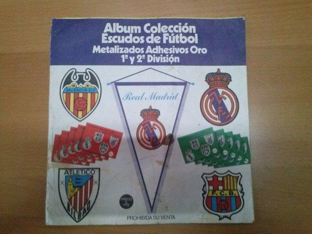 Albun De Escudos De Futbol