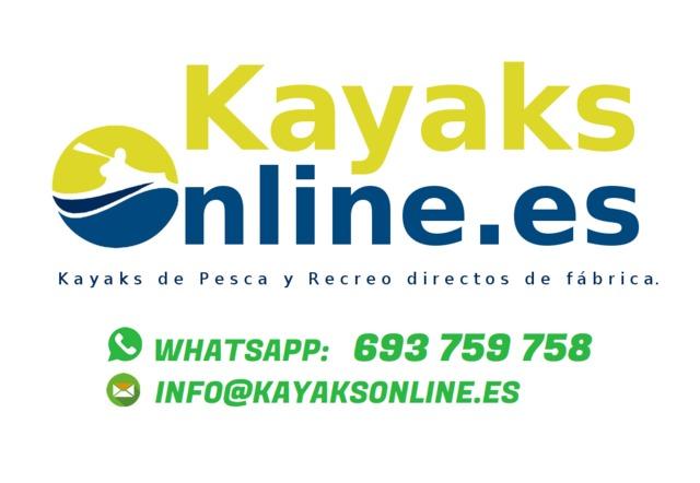 KAYAKS DE PESCA DOBLE (GARANTÍA 2 AÑOS) - foto 3