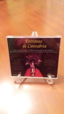 Monedas Plata De Ley Patronas Cantabria