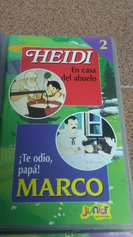 4 PELÍCULAS VHS DE HEIDI Y MARCO - foto 3
