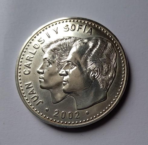 Moneda De Plata España 2002