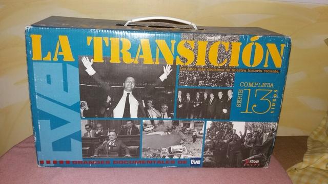 LA TRANSICION VHS COMPLETA SERIE - foto 1