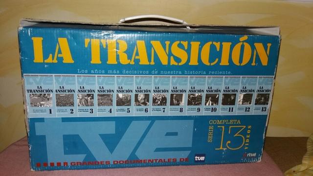 LA TRANSICION VHS COMPLETA SERIE - foto 2