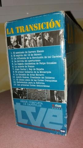 LA TRANSICION VHS COMPLETA SERIE - foto 3