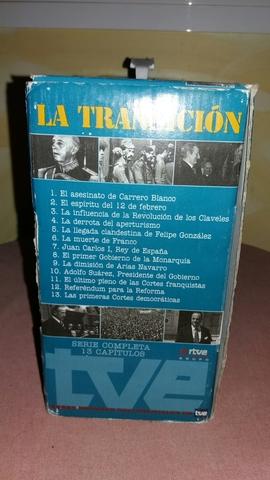 LA TRANSICION VHS COMPLETA SERIE - foto 4