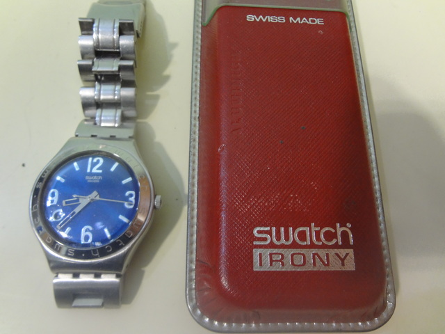 Anuncios com Swatch Mano Y Azul Anuncios Segunda Clasificados Mil 5qj43ARL