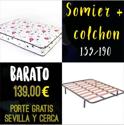 Oferta Somier Y Colchon 135.Oferta Colchon Mas Somier
