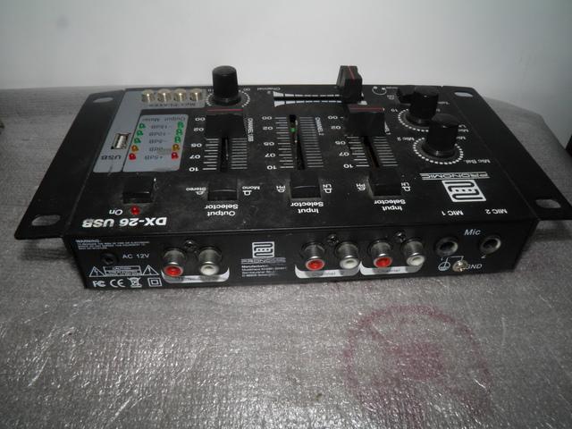 PRONOMIC DX-26 USB MESA DJ - foto 1