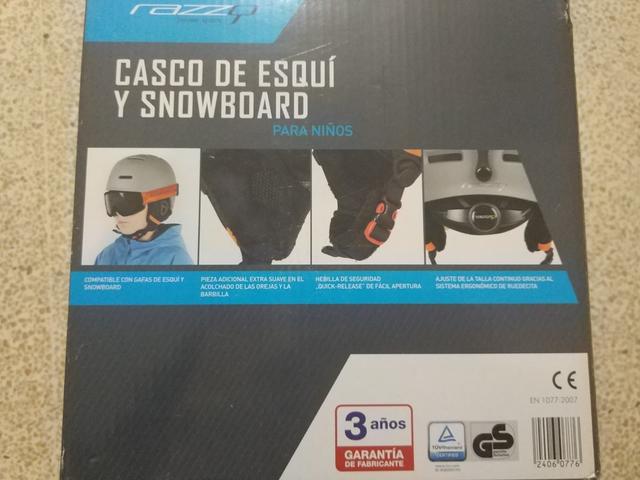 Casco De Ski/Snowboard Niño