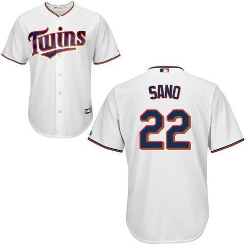 Blanca Mlb Twins 22 Camiseta Beisbol T1JclFK