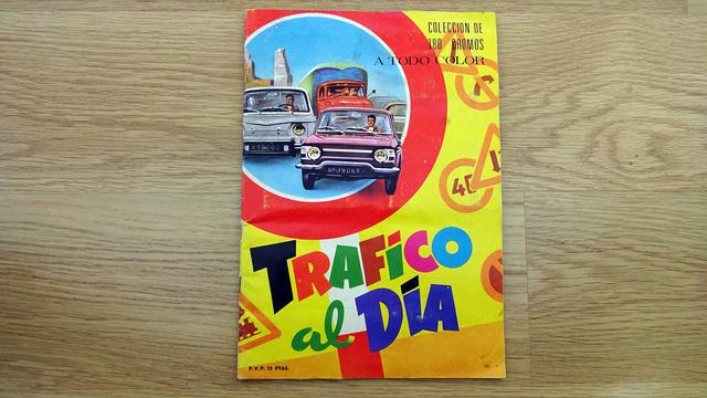 Album Completo Trafico Al Dia 180 Cromos