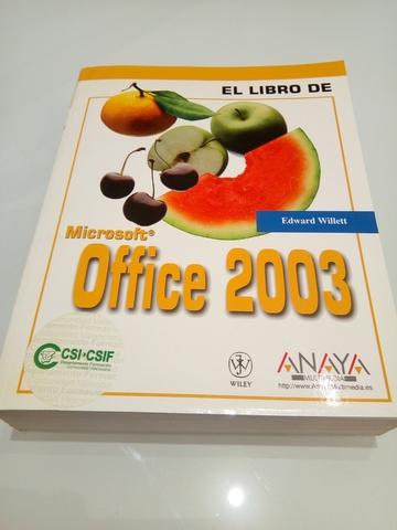 LIBRO MANUAL OFFICE 2003 - foto 1