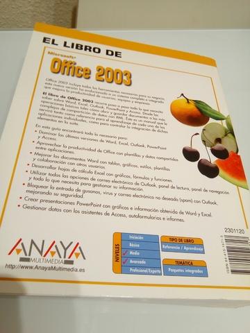 LIBRO MANUAL OFFICE 2003 - foto 2
