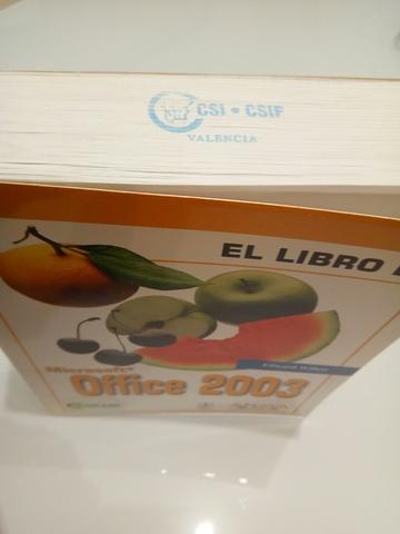 LIBRO MANUAL OFFICE 2003 - foto 8