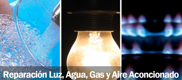REPARACIONES DE LUZ,  AGUA,  GAS Y AIRE - foto 1