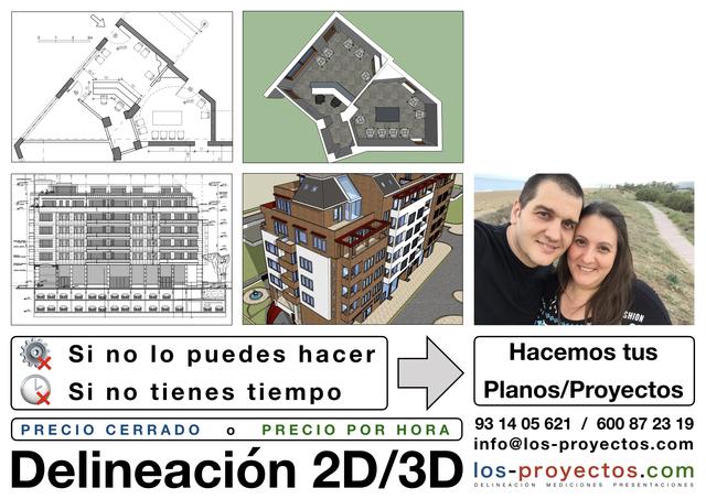 DELINEACIÓN 2D Y 3D - foto 1