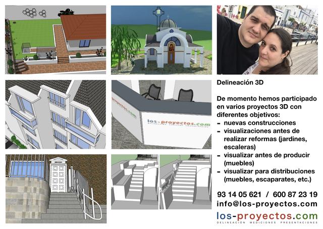 DELINEACIÓN 2D Y 3D - foto 4