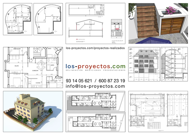 DELINEACIÓN 2D Y 3D - foto 6