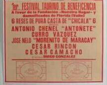 CARTEL DE TOROS  DE BOGOTA 1994 - foto 2
