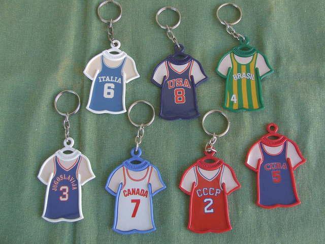 Llaveros De Camisetas De Baloncesto