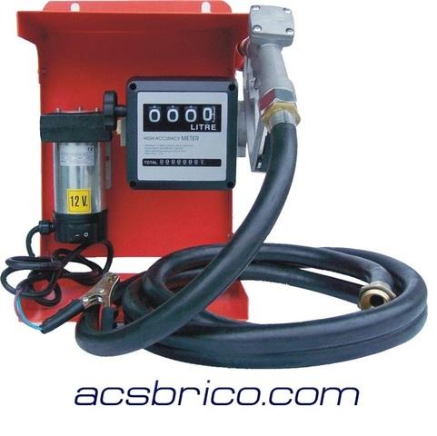 Bomba de trasiego de Diesel de Aceite Combustible Eléctrica 240 voltios