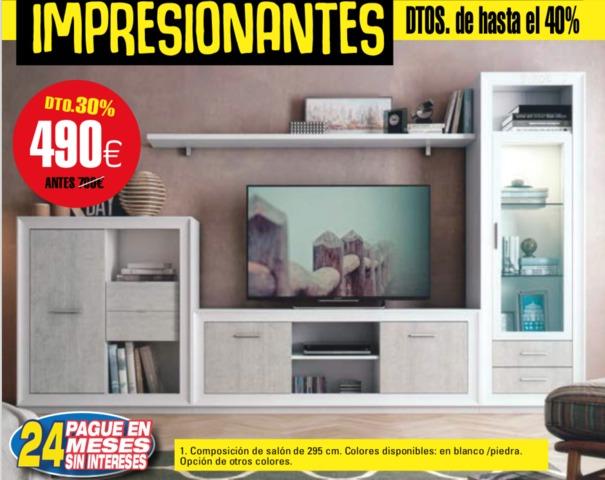 MUEBLE SALÓN 295 CM NOVEDAD - foto 1