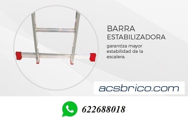 ESCALERAS PROFESIONAL ALUMINIO 1T – 2 M - foto 4