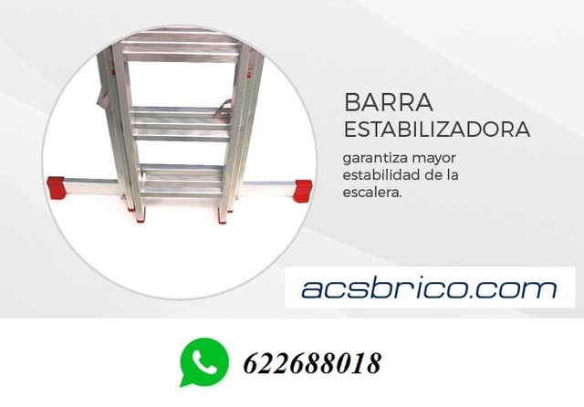 ESCALERAS PRO ALUMINIO – 3T – 2+2+2 - foto 4